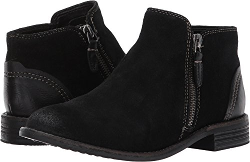 (CLARKS Women's Maypearl Juno Ankle Bootie Black 7.5 M)