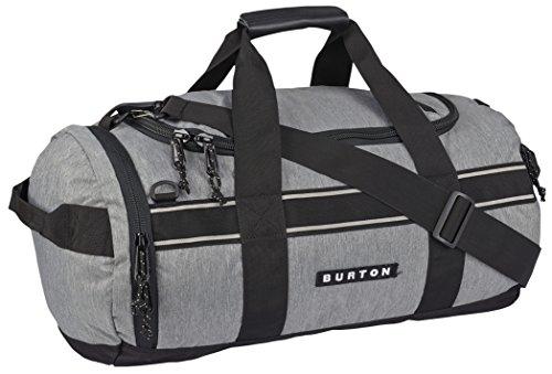 Burton Backhill Small 40 L Duffel Bag, Grey Heather, One Size
