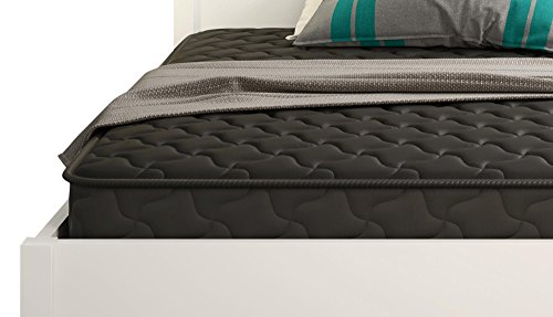 Signature Sleep Essential 6 Inch Coil Mattress made with CertiPUR-US Certified Foam, 6 Inch Full Mattress, Black. Available in Multiple Sizes