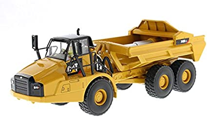 Diecast Masters CAT Caterpillar 745 Articulated Hauler Dump Truck with Removable Operator High Line Series 1//50 Diecast Model