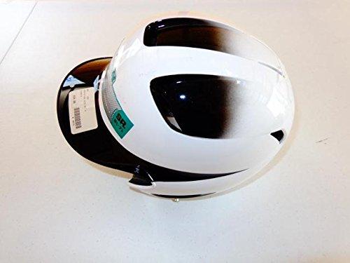 - Easton Natural Two-Tone Senior Batting Helmet, White/Black