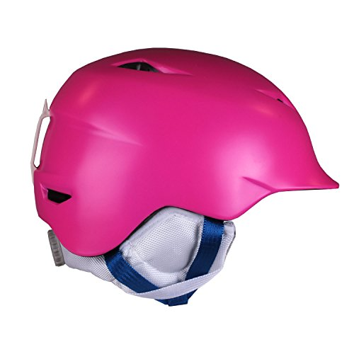 BERN Camina Helmet Girls' Satin Pink S/M