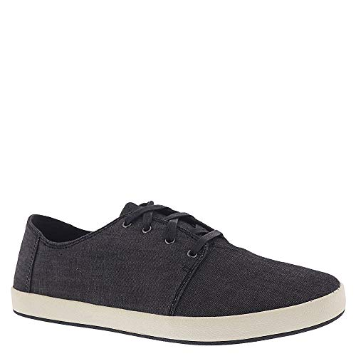 Toms Denim - TOMS Men's Payton Denim Chambray Sneaker Black Chambray (11.5 D US)