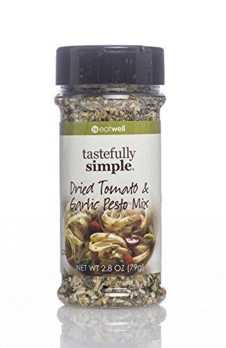 Low Ricotta Fat (Tastefully Simple Dried Tomato & Garlic Pesto Mix)
