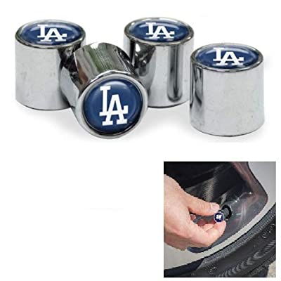 WinCraft Los Angeles Dodgers Chrome Valve Stem Caps: Automotive [5Bkhe2003411]