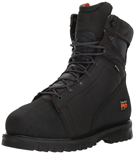 Metatarsal Boots Guard Safety (Timberland PRO Men's Rigmaster 8 Inch Waterproof Met Work Boot,Brown,10.5 M US)