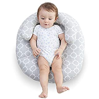 Hoomall Baby Newborn Lounger, Baby Pillow for Sleeping, Create a Moment of Hands-Free Bliss for Mom (Upgraded New)