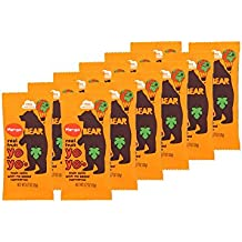 BEAR | Real Fruit Yoyos Snack | Non-GMO | Gluten-Free | All-Natural | Mango | 0.7 Ounce (12 Count)