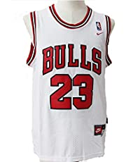 Mens NBA Michael Jordan #23 Chicago Bulls Basketbal Jersey Retro Gym Vest Sport Tops