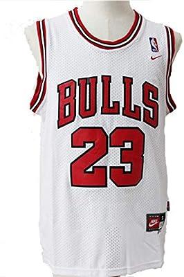 Herren NBA Michael Jordan # 23 Chicago Bulls Baloncesto Trikot ...