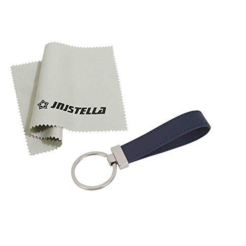 (Jnjstella Genuine Leather Key Fob Chain Ring Keychains)