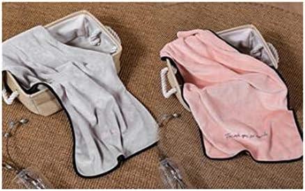 CQIANG タオル、創造的なタオルは大人の男性と女性が自分の髪を洗うのに適した純粋なコットンとスーパー吸収剤よりも軽いです、より多くの色(2ロード)37 * 76 cm (Color : D, Size : 37*76cm)