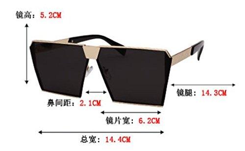 de Gafas Rojo Cuadrado pionero Mercurio Azul Black Gafas conducción Personalidad Hombre con Gafas de de Komny polarizadas Sol Sol Polaroid Gafas Femenina v5yIqwyz8x