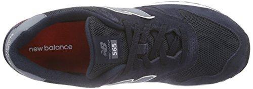 Uomo Nbml565nbr Atletica Blue New Scarpe Red da Balance Blau q15paTC