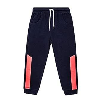 Petit Lem Boys Pants for Boys, Stylish and Fun Sweatpants - Blue - 10