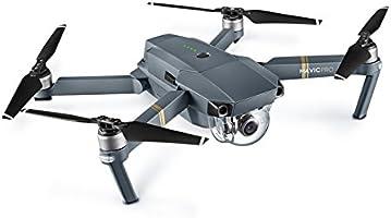 DJI Mavic Pro - Dron cuadricóptero (4 k/30 fps, 12mpx, 65 km/h, 27 ...