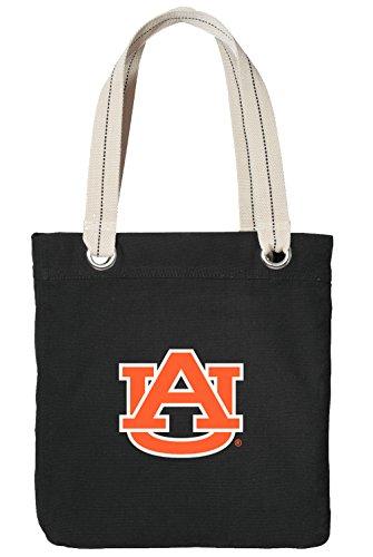 Auburn Tote Bag RICH COTTON CANVAS Auburn University Bags - Boxer Auburn
