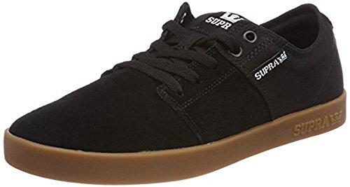 Supra Men's Stacks II '18 Shoes,Size 9,Black-Gum Mens Stack