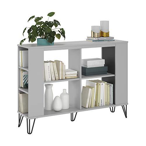(Owen 3 Shelf Bookcase, Dove Gray)