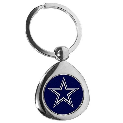 Siskiyou NFL Dallas Cowboys round Teardrop Key Chain, ()