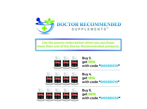 Doctor Recommended Horny Goat Weed – Maximum Male Performance – Intense Libido Boost – Post Workout Supplement – 120mg of Icariin Per Dose – Natural Herb Blend by Doctor Recommended (Image #2)