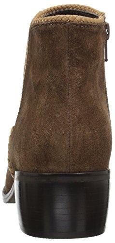 Matisse Womens Unisce Caviglia Bootie In Pelle Cognac