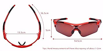 f91df218e98 Image Unavailable. Image not available for. Color  WaraShop ROCKBROS Sports  Photochromic Polarized Glasses Cycling Eyewear Bicycle Glass MTB Bike ...