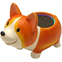 Corgi Dog Holder Stand Mount For Alexa Echo Dot, Bose, Anker, Home Mini round speakers Accessories