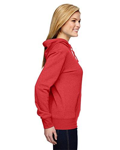 J. America Ladies glitter french terry hooded sweatshirt