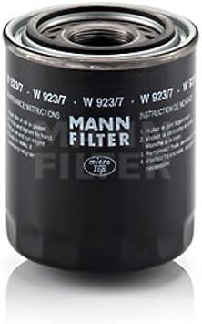 Mann Filter W9237 Schmierölfilter Auto