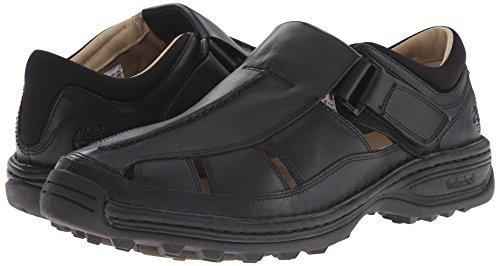 Timberland Men's Altamont Fisherman Sandal,Black,10.5 W