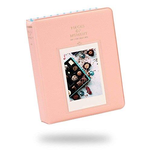 SAIKA 64 Pockets Photo Album for Mini Fuji Instax 70 7s 8 25 50s 90, Polaroid Z2300, Polaroid PIC-300P Film ()