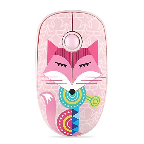 Wireless Mouse Ergonomic Wireless Laptop Mouse 2.4G