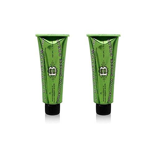 C.O.Bigelow Premium Shaving Cream 1.7 oz (Pack of 2) by C. O. Bigelow