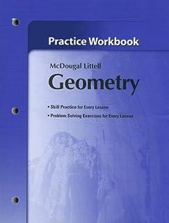 amazon com geometry holt mcdougal larson geometry 9780618595402 rh amazon com Larson Geometry Answers Holt McDougal Geometry Common Core Edition