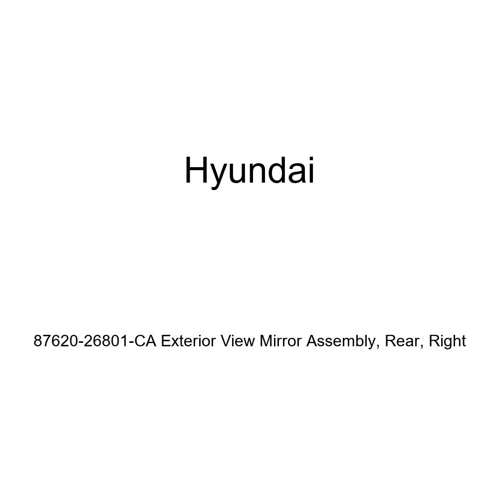 Genuine Hyundai 87620-26801-CA Exterior View Mirror Assembly Rear Right
