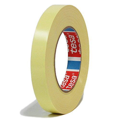 Tesa 4289 - Heavy Duty Tensilized Polypropylene (TPP) Strapping Tape - 3/4 Inch X 60 Yards - Yellow - 96 Rolls per Order