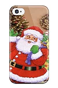 Amazing Free Christmas Mobile Phone Special Case Compatible With Iphone 4/4s/ Hot Protection Case