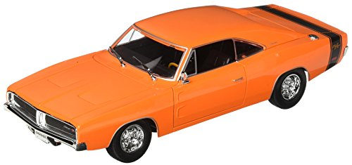 18 1969 Dodge Charger - Maisto 1:18 Special Edition - 1969 Dodge Charger R/T - Orange