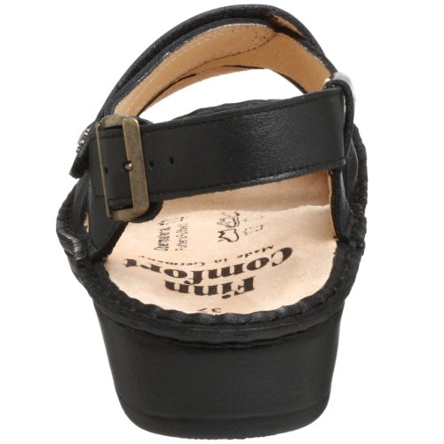 Black Nappa Women's Finn Jersey Comfort 82521 UwAXXqI6