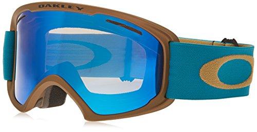 Oakley OO7045-13 O2 XL Eyewear, Copper Aurora Blue, Ice Iridium Lens (Oakley Ice Iridium compare prices)