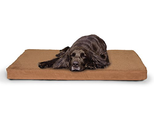 FurHaven Pet Nap Terry and Suede Deluxe 27-Inch by 36-Inch M