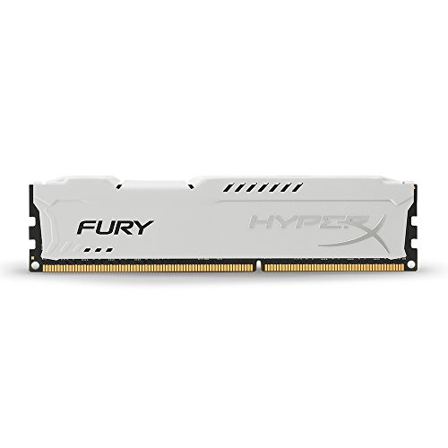 Kingston HyperX FURY 8GB 1866MHz DDR3 CL10 DIMM - White (HX318C10FW/8)