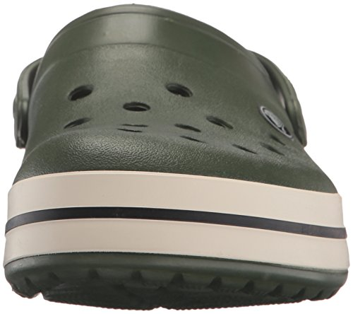 Green stucco Forest Crocs Mixed Clogs Green Crocband Adult x4wxqAYFf