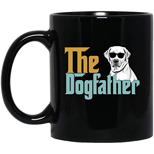 The Dogfather Labrador Dog Vintage Mug for Father -, used for sale  Delivered anywhere in USA