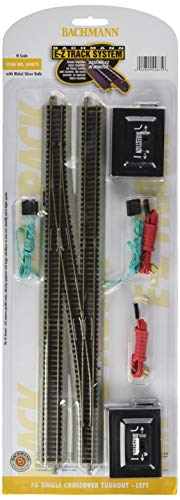 Used, Bachmann Industries E-Z Track 6 Single Crossover Turnout for sale  Delivered anywhere in USA