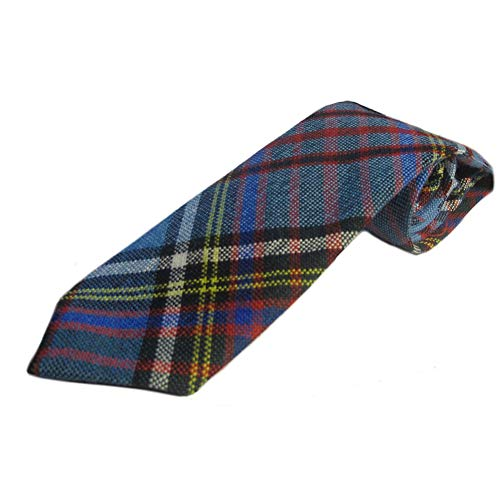 (Ingles Buchan Boys Scottish Wool Tartan Tie Anderson Modern)
