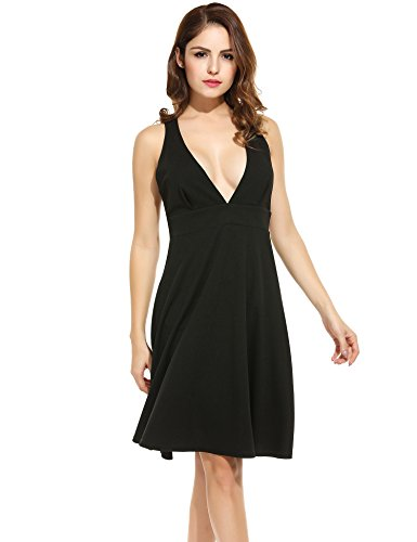 ANGVNS Sleeveless Pleated Camisole Cocktail