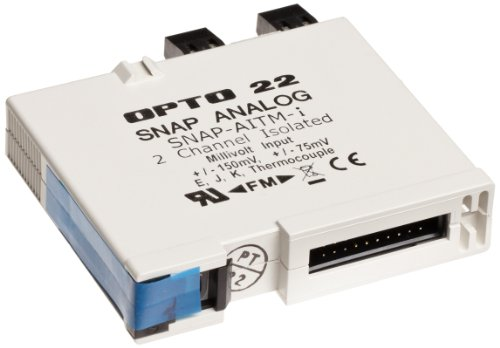 Opto 22 SNAP-AITM-i - SNAP Isolated Analog Input Module, 2-Channel Thermocouple or mV Input