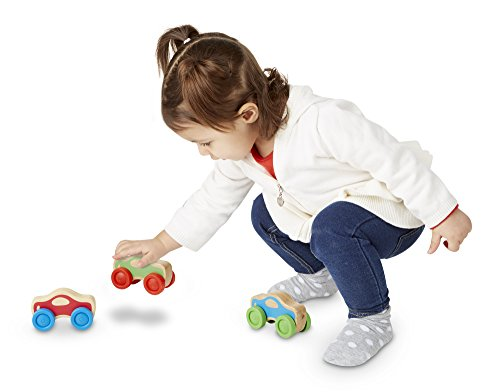 413xxJspmCL - Melissa & Doug Stacking Cars Wooden Baby Toy